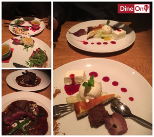 DineOn uit eten in Groningen verrassingsmenu